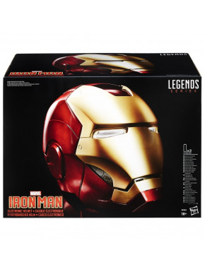 Casco electrónico Iron Man Marvel Legends