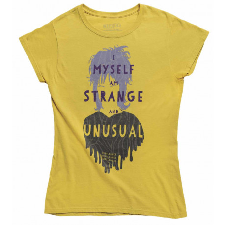 Camiseta Chica Beetlejuice I Myself Am Strange and Unusual