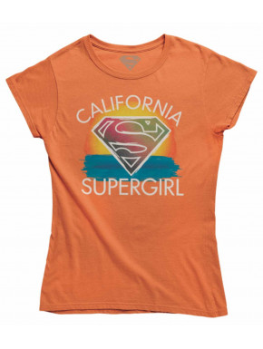 Camiseta Chica California Supergirl
