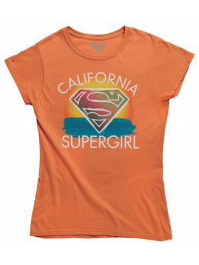Camiseta Chica California Supergirl