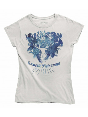Camiseta Chica Expecto Patronum Harry Potter