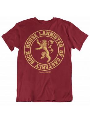 Camiseta Juego de Tronos Lannister