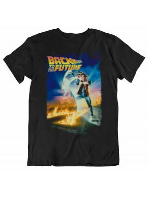 Camiseta Regreso al Futuro Marty McFly