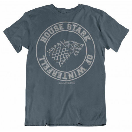 Camiseta Juego de Tronos Stark