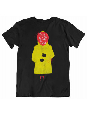 Camiseta Chica It You´ll float too