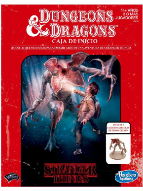 Juego de mesa Dungeons and Dragons Stranger Things