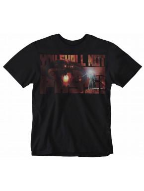 Camiseta El Señor de los Anillos You Shall Not Pass