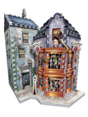 Puzzle 3D Harry Potter Sortilegios Weasley Callejón Diagon