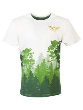 Camiseta Zelda Bosque