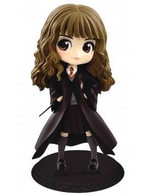 Figura Hermione con Varita Q Posket Harry Potter 14 cm