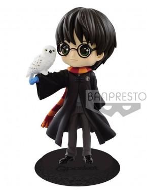 Figura Harry Potter con Hedwig Banpresto Q Posket 14 cm