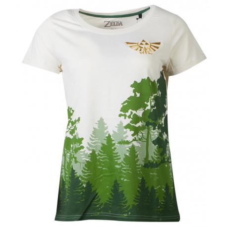 Camiseta chica Zelda Bosque