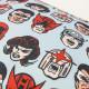 Cojín Marvel Comics Retro