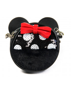 Cartera Monedero Minnie Lentejuelas