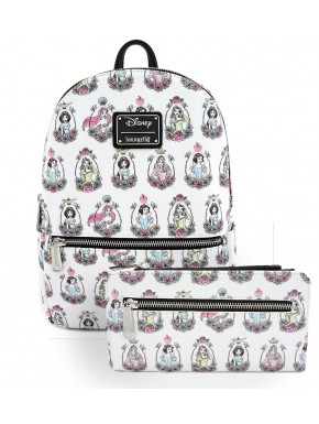 Pack bolso y cartera Princesas Disney Loungefly