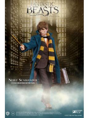 Figura 1/6  Newt Scamander Grey Coat 30 cm Animales fantásticos My Favourite Movie