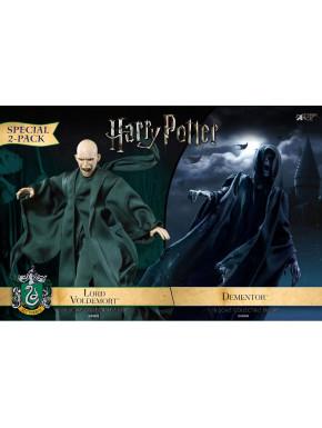 Pack de 2 figuras 1/8 Dementor & Voldemort 16-23 cm Harry Potter