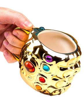 Taza 3D Thanos Guantelete del Infinito Marvel Infinity War