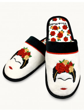 Zapatillas Frida Kahlo Flores