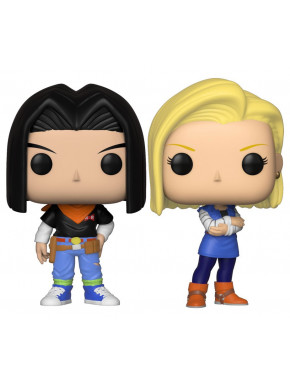 Pack Android 17 y 18 Funko Pop! Dragon Ball