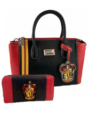 Pack cartera y bolso Harry Potter Gryffindor