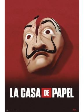 Póster La Casa de Papel Mask