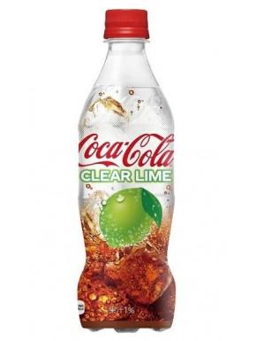 Coca Cola Transparente Clear Lime