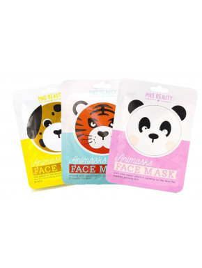 Pack mascarillas animales Kawaii