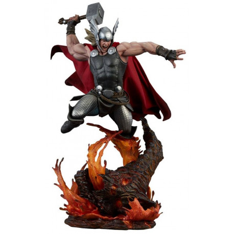 Estatua Premium Thor Breaker Of  Brimstone Sideshow Collectibles 65 cm