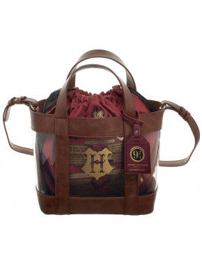 Bolso transparente Harry Potter Hogwarts