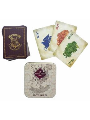 Baraja de cartas mapa del merodeador Harry Potter