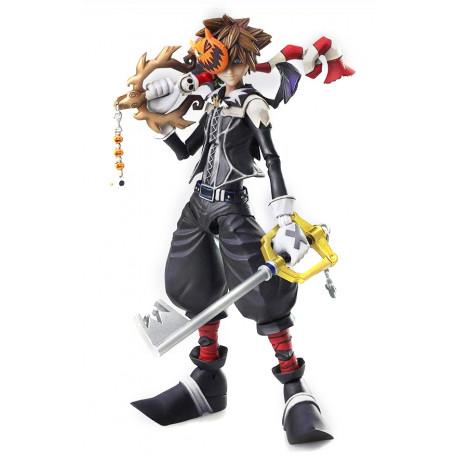 Kingdom Hearts II traer Arts Figura De Acción Sora Halloween Town Ver15 cm