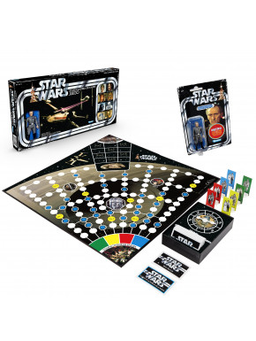 Juego retro Star Wars Escape de la Estrella de la Muerte