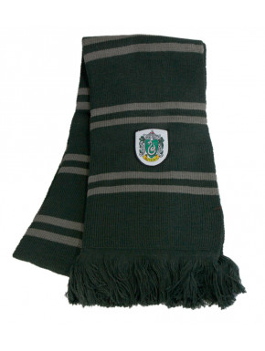 Bufanda de punto Slytherin Harry Potter