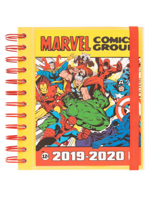 Agenda Escolar Marvel Comics 2019 - 2020