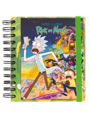 Agenda Escolar Rick & Morty 2019 - 2020