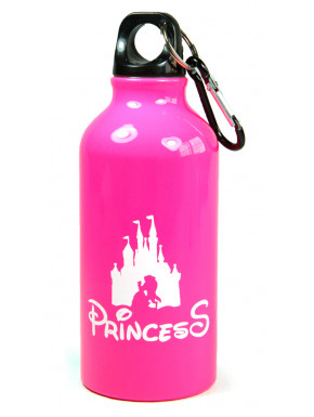 Botella de aluminio Disney Princess training