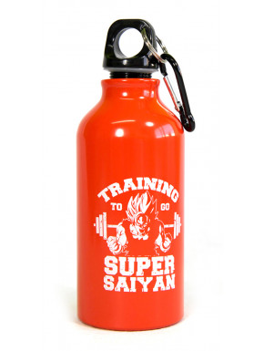 Botella de aluminio Saiyan Training 400 ml