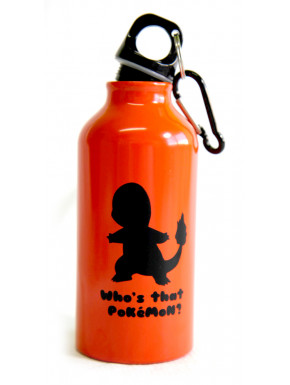 Botella de aluminio Pokemon training 400 ml
