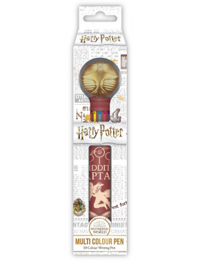 Bolígrafo Multicolor Harry Potter Snitch Dorada