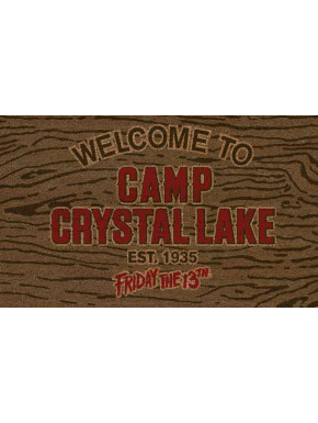 Felpudo Welcome Camp Crystal Lake Viernes 13