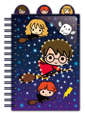 Libreta A5 Harry Potter Hogwarts con Bolígrafo