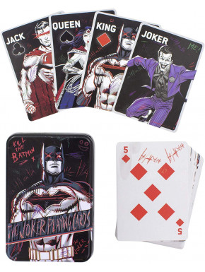Baraja de cartas The Joker DC Comics