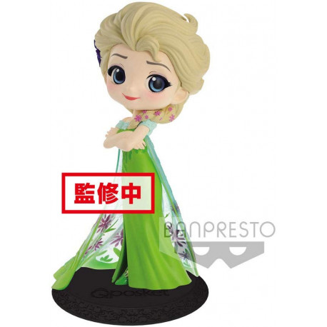 Figura Elsa Banpresto Q Posket Disney 14 cm