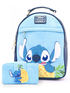 Pack cartera y bolso Stitch Disney Loungefly