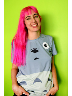 Camiseta Big Face Totoro