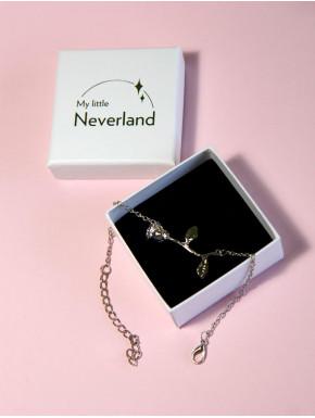 Pulsera Rosa Encantada Bella y Bestia Disney Little Neverland