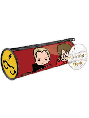 Estuche Portalápices Harry Potter Kawaii Quidditch