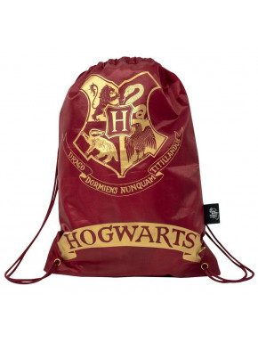Bolsa de tela Hogwarts Harry Potter Roja