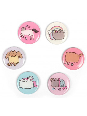 Set imanes Pusheen